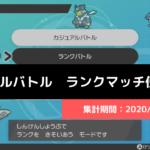 【ダブル】マスターランク級でのポケモン使用率!(2020/7/1~7/4)