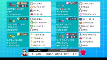 【VGC France Hexa Cup優勝】The friendly pony